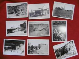 TARN CARRIÈRE MINE TRAIN WAGONNET CAMION VOITURE PHOTO 18 X 13 CARMAUX ? - Orte