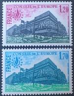R1615/301 - 1978 - SERVICE - CONSEIL DE L'EUROPE - N°58 à 59 NEUFS** - Mint/Hinged