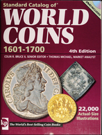 2009 Standard Catalog Of World Coins - 4th Edition - 1601-1700 - Libri & Software