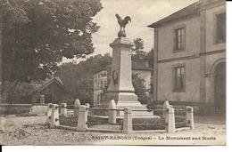 88 - Saint-Nabord - Le Monument Aux Morts - Saint Nabord