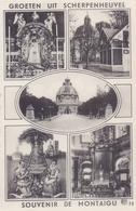 SCHERPENHEUVELin De Jaren 1950 : «Groeten Uit Scherpenheuvel/Souvenir De Montaigu». Nieuwe Postkaart / Carte Neuve - Scherpenheuvel-Zichem