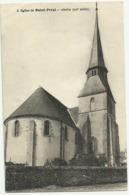 Belle Carte Sépia    EURE ET  LOIR  2. Eglise De Saint.Prest.  Abside (XIIe Siècle) - France