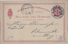 Denmark Old  Cover        (A-3500-special-1) - 1905-12 (Frederik VIII)