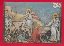 CARTOLINA VG ITALIA - GIOTTO - Cristo Risorto Appare Alla Maddalena - 10 X 15 - 1952 - Pittura & Quadri