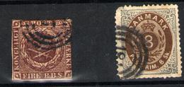 Dinamarca Nº 19 Y 2 - 1851-63 (Frederik VII)