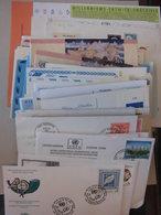 Sammlung UNO Genf Wien New York Ca 110 Briefe Belege Ganzsachen FDC Usw (52109) - Briefmarken