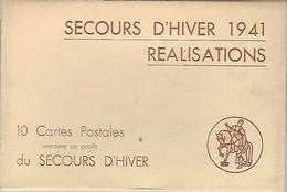 C-SECOURS D'HIVER 1941-10 Cartes Postales Vendues Au Profit Du Secours D'hiver- Bruxelles - Belgique