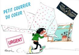 FRANQUIN - Gaston Lagaffe - Petit Courrier Du Coeur Lettre Letter - N° 482 En TB.Etat - Autres Illustrateurs