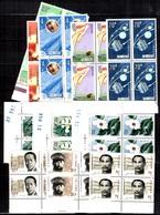 Chine/China Séries Complètes En Blocs De 4 Neufs ** MNH 1985/1987. TB. A Saisir! - 1949 - ... Repubblica Popolare