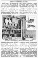 MELANGEURS AUTOMATIQUES DES SUCRES  1901 - Ciencia & Tecnología