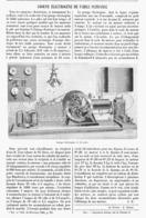 GROUPE ELECTROGENE De FAIBLE PUISSANCE  1901 - Sonstige