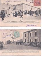 84 - LE MONT VENTOUX - Lot De 4 CPA - Vue Prise Le 20 Septembre 1903 ,jour De Courses Automobiles.(l'observatoire) - Autres Communes