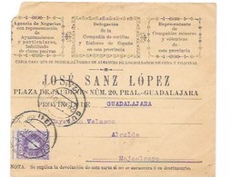 1907 SOBRE COMERCIAL DE GUADALAJARA  - SPH1 - Cartas