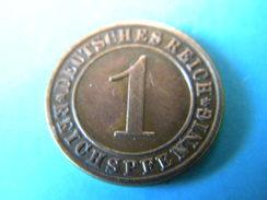 ALLEMAGNE - 1 REICHSPFENNIG 1935.A. - 1 Reichspfennig