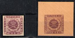Dinamarca Nº 2 Y 6 - 1851-63 (Frederik VII)