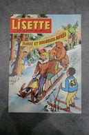 Magazine - Lisette N°52 Le 30-12-1962 - - Lisette