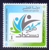 2010 Qatar General Population And Housing Census 1 Values MNH - Qatar