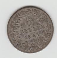 6 KREUZER HOHENZOLLERN-HECHINGEN 1841 - [ 1] …-1871 : Duitse Staten
