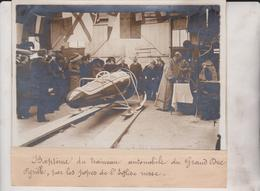 BAPTÊME DU TRAINEAU AUTOMOBILE DU GRAND DUC CYRILLE POPES RUSSE RUSSIE 18*13CM Maurice-Louis BRANGER PARÍS (1874-1950) - Automobiles