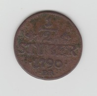 1/2 STUBER DUCHE DE JULIERS (DUSSELDORF) 1790 - [ 1] …-1871: Altdeutschland