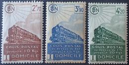 R1615/316 - 1941 - COLIS POSTAUX - N°183 à 185 NEUFS** - Mint/Hinged