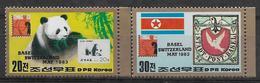Timbres Coeée Du Nord, Neufs Sans Charniére, No: 1755 Y Et T, MINT NEVER HINGED, COMPLETE SERIES - Corée Du Nord