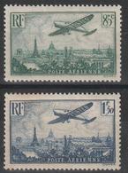 Année 1936 - N° 8 à 13 - Avion Survolant Paris - Série 6 Valeurs - Cote Neufs 300 € - 1927-1959 Nuovi
