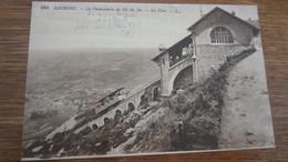 LOURDES   FUNICULAIRE DU PIC DU GERS    TRAINS - Lourdes