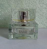 """Très Lourd Flacon Vaporisateur Avec Bouchon En Verre """"GUCCI  """" De GUCCI  Eau De Parfum 75 Ml VIDE/EMPTY - Flacons (vides)"""