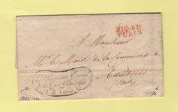 Turin - 104 - Port Paye - 1812 - Procureur General De La Cour Imperiale De Turin - Departement Po - Sans Correspondance - 1792-1815: Conquered Departments