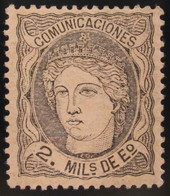 España 103 * - 1868-70 Gobierno Provisional