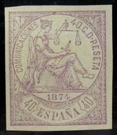 España 148s (*) - 1872-73 Reino: Amadeo I