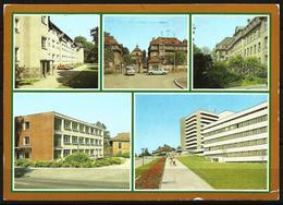 Postcard AK Germany Architecture Karl-Marx-Stadt Gesundheitseinrichtungen Health Care Institutes Posted 1988 - Chemnitz (Karl-Marx-Stadt 1953-1990)
