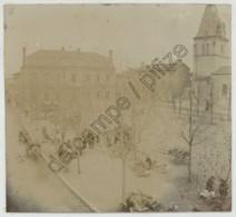 Vénissieux . Place Un Jour De Pluie . Marché . Vers 1905 . - Lieux
