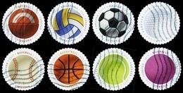 Etats-Unis / United States (Scott No.5203-10 - Balles De Sport / Sports Balls) (o) - Verenigde Staten