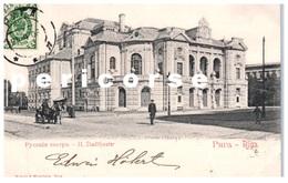 Riga  Stadttheater - Russie