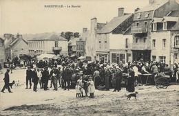 50 BARNEVILLE - Le Marché - Barneville