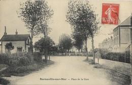 50 BARNEVILLE-sur-MER - Place De La Gare - Barneville