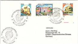 ITALIA.  LA PACE IL DENS PIU GRANDE PALAZZOLO SULL'OGLIO 1995 - Guerre Mondiale (Seconde)