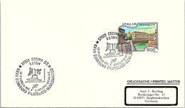 ITALIA.  LA FILATELIA NEL 2° CONFLITTO MONDIALE CECINA 1994 - 2. Weltkrieg