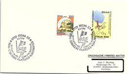 ITALIA.  LA FILATELIA NEL 2° COFLITTO MONDIALE CECINA 1994 - Seconda Guerra Mondiale
