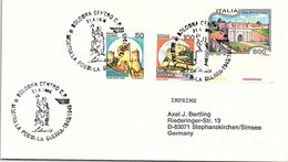 ITALIA.  MOSTRA LA POSTA GUERRA 1943/1945 BOLOGNA 1995 - WW2