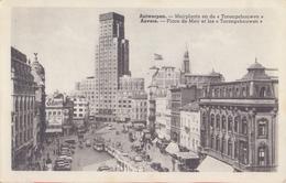 ANTWERPEN: Meirplaats En De Boerentoren / ANVERS:Place De Meir. Niet-gelopen Postkaart / Carte Non Voyagée ... - Antwerpen