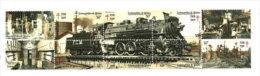 Chemins De Fer Mexicains (locomotive Vapeur FCM), Atelier Mecanique De Nonoalco. 10 T-p Neufs ** - Trains