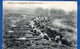 Infanterie In Schützengräben - Guerre 1914-18