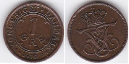Denmark - 1 Ore 1910 Lemberg-Zp - Danimarca