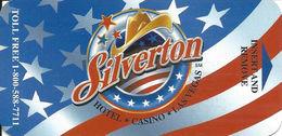 Silverton Casino - Las Vegas NV - Narrow Hotel Room Key Card With CK506-CU-SF-12679 On Back - Hotel Keycards