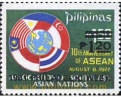 Ref. 313285 * MNH * - PHILIPPINES. 1981. PHILATELIC WEEK . SEMANA DE LA FILATELIA - Drapeaux