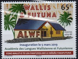 Wallis & Futuna 2019 - Académie Des Langues De Wallis Et Futuna - 1 Val Neuf // Mnh - Neufs