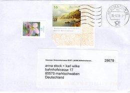 Brief Von Briefzentrum 26 Mit 70 Cent Mischfrankatur 2019 Mittelrheintal Eckrandstück - BRD